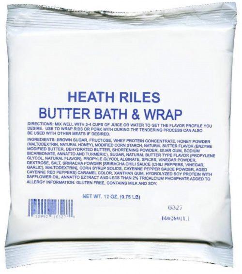 heath riles butter bath wrap brine