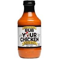 rub your chicken buffalo sauce