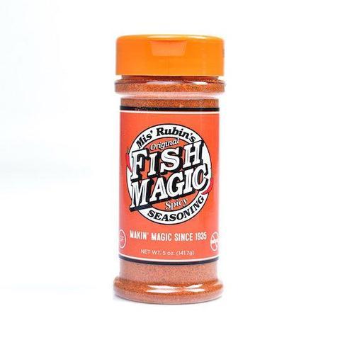 mis rubins fish magic, bbq rub