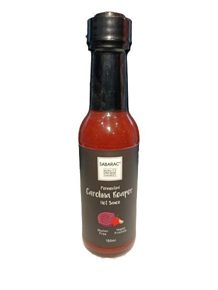 Fermented Carolina Reaper Sauce