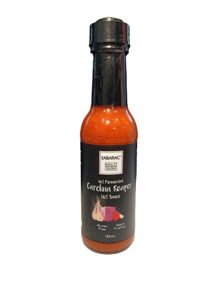 sabarac Carolina reaper hot sauce