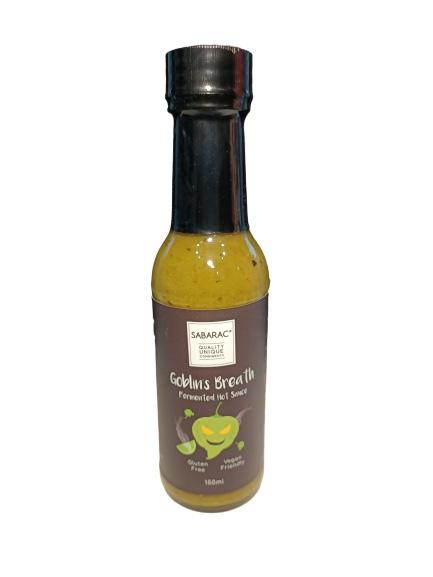 sabarac goblins breath hot sauce