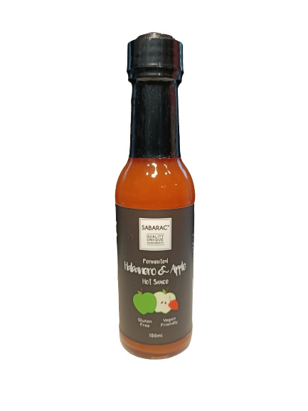sabarac, habanero and apple hot sauce