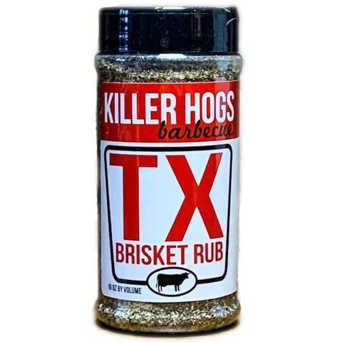 killer hogs, brisket, rub