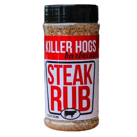 killer hogs, steak, rub