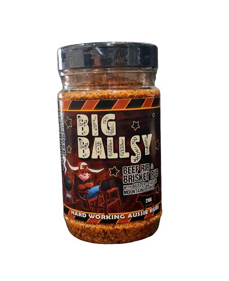 bulldozer bbq, big ballsy beef rub