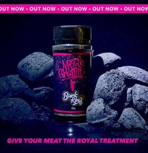meat grafiti, Bark king, meat rub