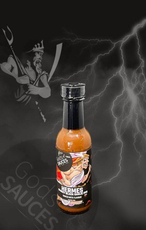 SmokeyBlack Garlic BBQ Hot Sauce