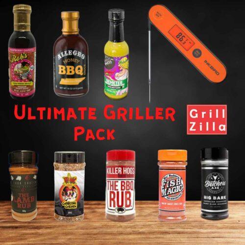 grillzilla ultimate pack, bbq rubs
