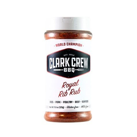 clark crew bbq, royal rib rub