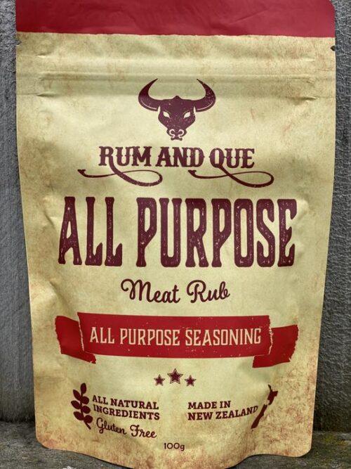 rum and sue, all purpose rub