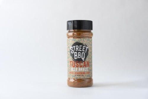 street bbq, meat rubs, tuscan